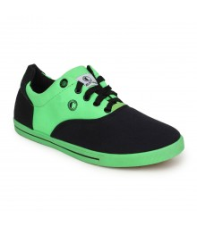 Cefiro Men Casual Shoes Fun04A Black Green CCS0021